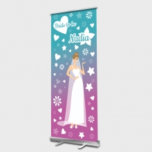 Bride to be Roll up Banner