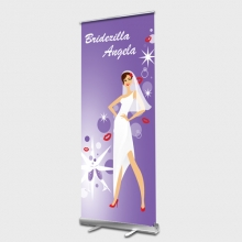 Bridezilla Roll up Banner