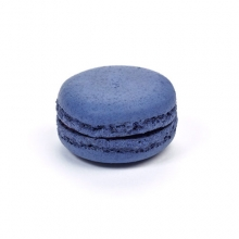 Blauwe Macarons