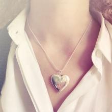 Zilveren Love Medaillon