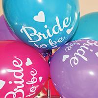 Ballonnen met wens voor bruid